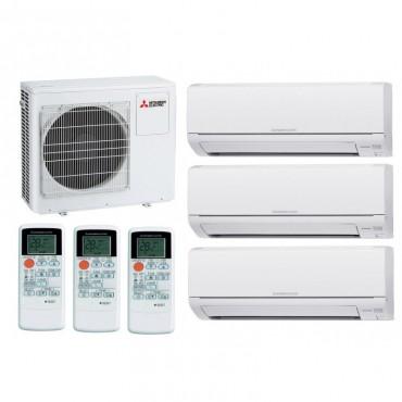 Mitsubishi Electric MXZ-3HJ50VA ER+2xMSZ-HJ25VA ER+MSZ-HJ35VA ER мультисплитсистема